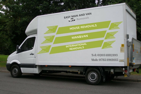 man and van Potters Bar